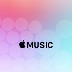 「Apple Music」のデザインをモチーフにした壁紙