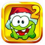 App Storeの「今週のアプリ」は、人気パズルゲームの「Cut the Rope 2」無料