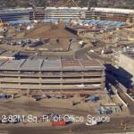 Apple Campus 2の最新空撮動画