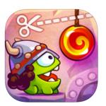 App Storeの「今週のアプリ」は、人気ゲームの「Cut the Rope: Time Travel (カット・ザ・ロープ:タイムトラベル)」無料