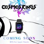 スクウェア・エニックス、Apple Watch向けの新作RPG「COSMOS RINGS(コスモスリングス)」を発表