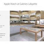 Apple、フランスの高級デパート「ギャラリー・ラファイエット」内の「Apple Watch」販売店舗を販売不振により2017年1月で閉店