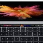 Apple純正アプリのTouch Bar(画像)はこんな感じ