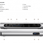 新MacBook Pro(Late 2016)には「Thunderbolt 3 Express Dock HD (40 Gbps) 」が必須!?