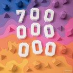 Instagram、1四半期で16.7%も増加し月間アクティブユーザー数が7億人を突破!