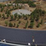 工事が遅れているApple Parkの空撮動画(2017年4月末)