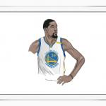 iPad ProのアーティストがNBAスターを描写