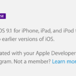 Apple、「iOS 9.1 beta 4」 「tvOS beta 3」「Xcode 7.1 beta 3」を開発者に公開!
