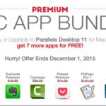 Parallels、約49,000円分をパックにした「Parallels Desktop 11 for Mac バンドル」セットを8,500円で販売!