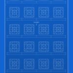ユニークなグリッド付きの青写真風などの「iPhone X」「iPhone 6/ s/ 7/ 8」用の壁紙10枚